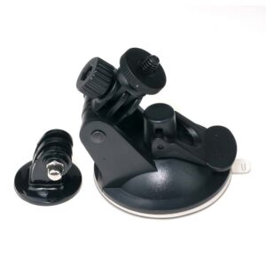 Suction cup mount for adventure cameras