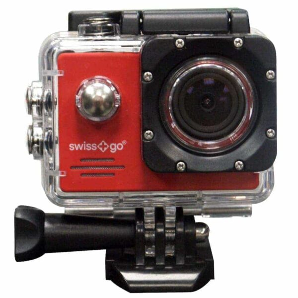 SG-1.0 Full HD Adventure Camera with accessories