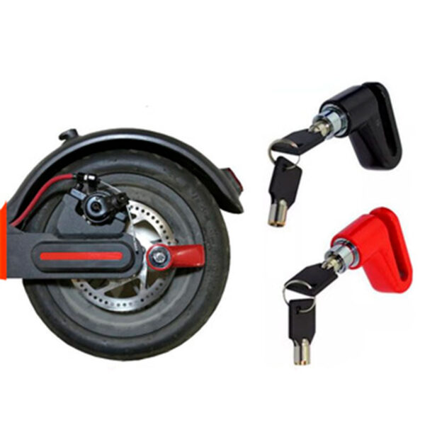 Disc lock for electric scooters